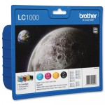 Cartucho Original Brother LC-1000 VALBP (Pack 4 colores)