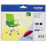 Cartucho Original Brother LC-229 XL / LC-225 XL VALBP (Pack 4 colores)