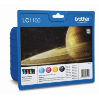 Cartucho Original Brother LC-1100 VALBP (Pack 4 colores)