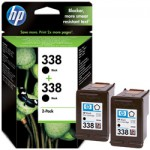 Cartucho Original HP Nº 338 - CB331EE (pack 2)