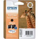 Cartucho Original Epson T0711H (pack doble, alta capacidad)